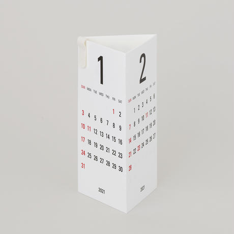 Replug|2022年カレンダー「Re+g Triangular」セット ホワイト