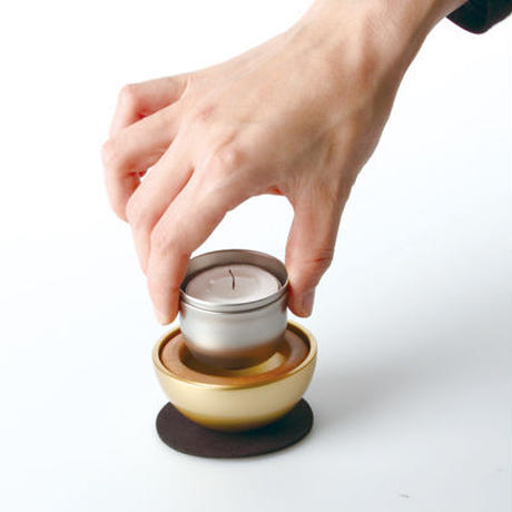 krone 【Sotto】Potterin ポタリン【火立/香立/花立/おりん】