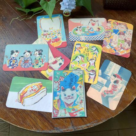 青空亭(チャンキー+いぬんこ) B絵葉書4枚組+1枚+特別包装