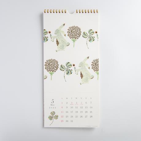 点と線模様製作所(アートプリントジャパン)|2022 Gold Accent wall calendar