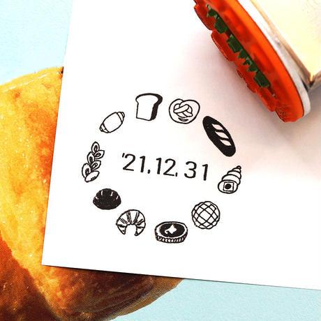 36 Sublo (サブロ) 日付回転印 36mm パン