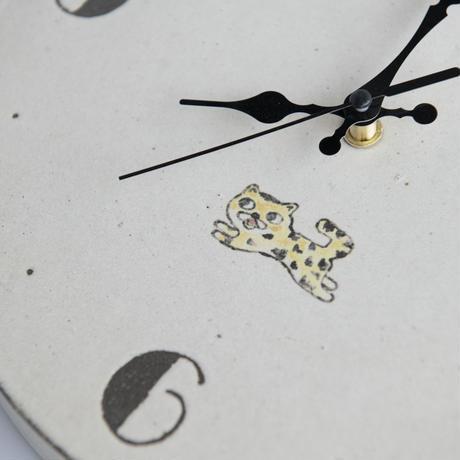 アニマル潤 トラ掛け時計