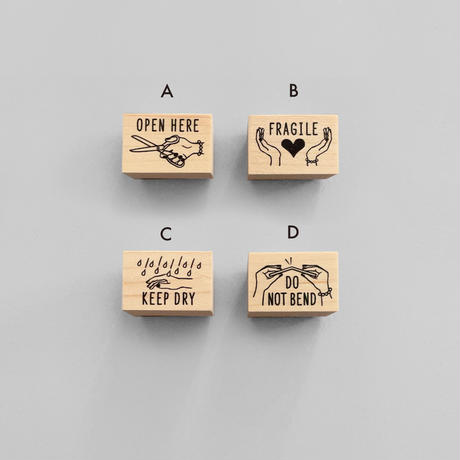 KNOOPWORKS|郵便物にオススメ! 選べるスタンプ2個セット