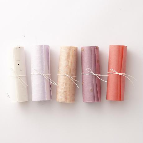 【9月号掲載分】WACCA JAPAN 和紙ロール&和紙糸の詰め合わせBOX   TWILIGHT 暮色【月刊手紙舎限定セット】