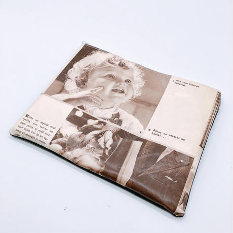 LIFE AND BOOKS|OLD PAPER POUCH (L)7-10