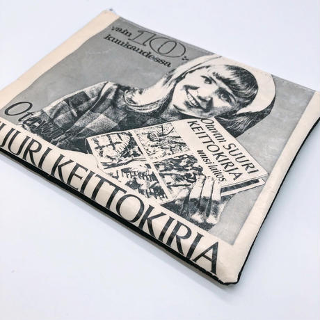 LIFE AND BOOKS|OLD PAPER POUCH (L)5