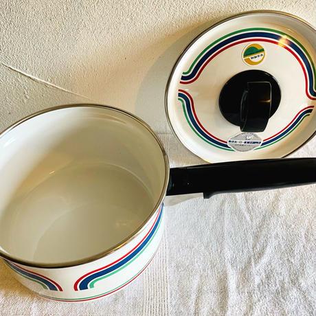houti|ZOJIRUSHI 素敵なデザインのホーロー片手鍋