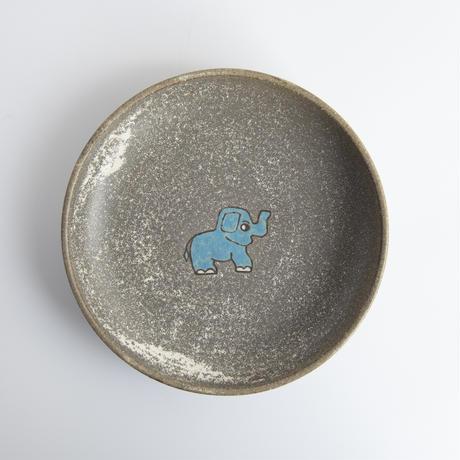 【8月号掲載分】アニマル潤 ゾウ丸皿