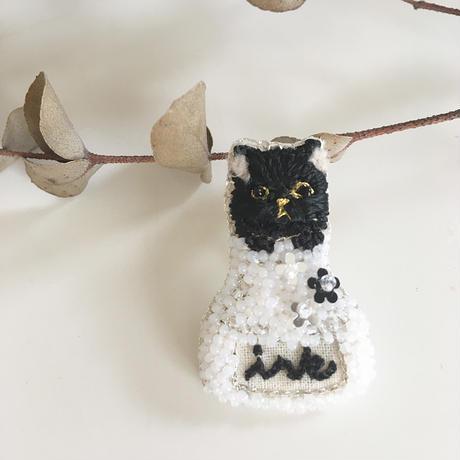 【7月号掲載分】Cotoha|インクcat 限定ブローチ black cat