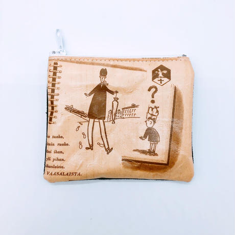【6月号掲載分】LIFE AND BOOKS OLD PAPER POUCH (S)20