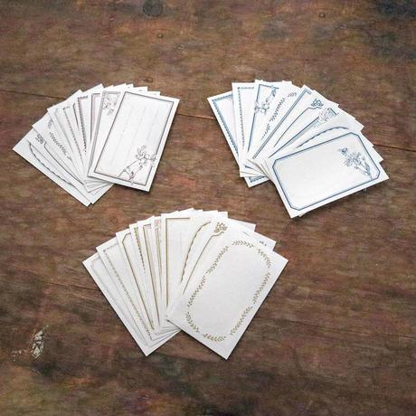 【7月号掲載分】啓文社印刷|活版フレームシール&封蝋シールセット 60枚タイプ