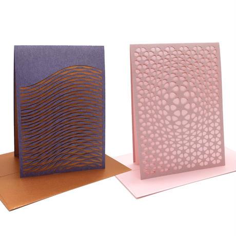 西荻ペーパートライ|The Snowback Press | CutItOut!Cards グリーティングカードセットA(2組セット)