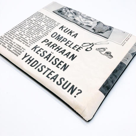 LIFE AND BOOKS|OLD PAPER POUCH (L)26