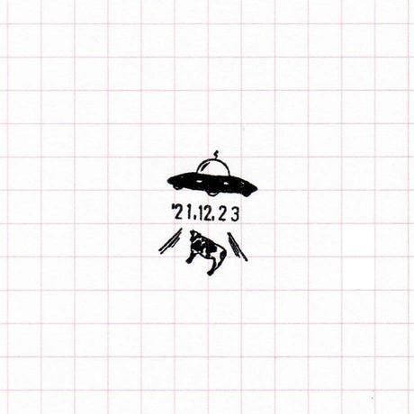 36 Sublo (サブロ) 木軸日付回転印 【受注商品:8月中発送】