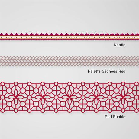 Pavilio|レーステープ「Red Color series」セット