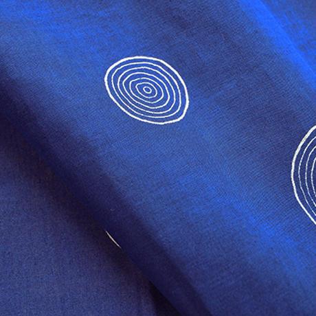 華市松 手拭い「H1014:年輪(紺色)」