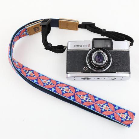 レピヤンリボン オリボンカメラストラップ/チューリップ3色