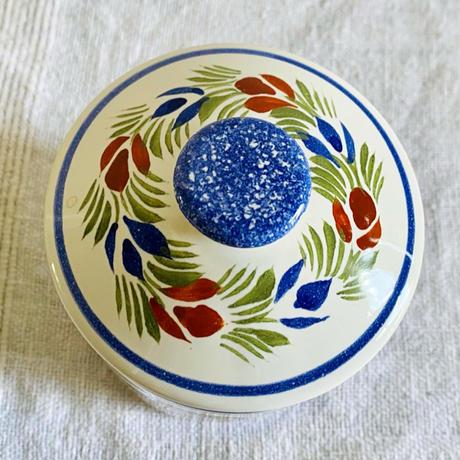 houti FRANCE HENRIOT QUIMPER 陶器製キャニスター