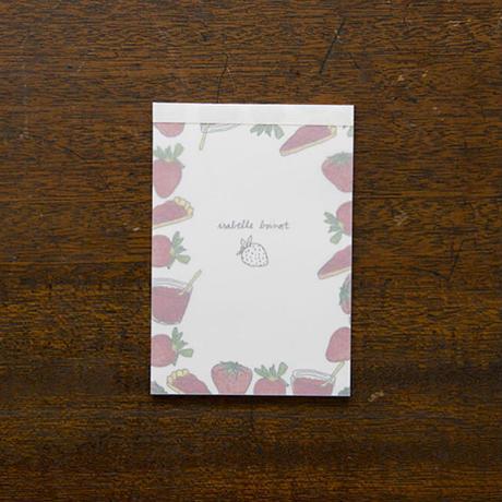 【8月号掲載分】手紙社 【限定10セット】イザベル・ボワノ・お祭りセット