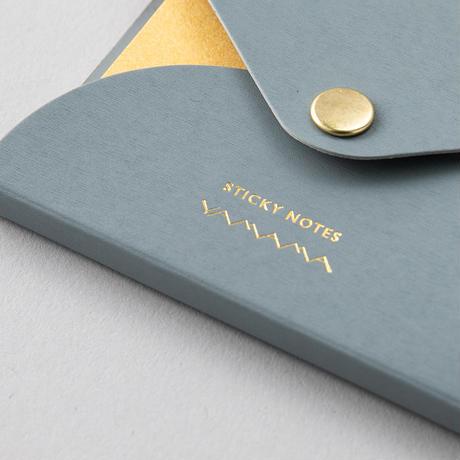 DRESSENSE| 金銀銅のふせん 2個セット 角・短冊