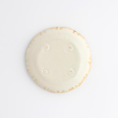 陶器あ↔︎ん|2豆皿 輪花 花びら12片 白錫