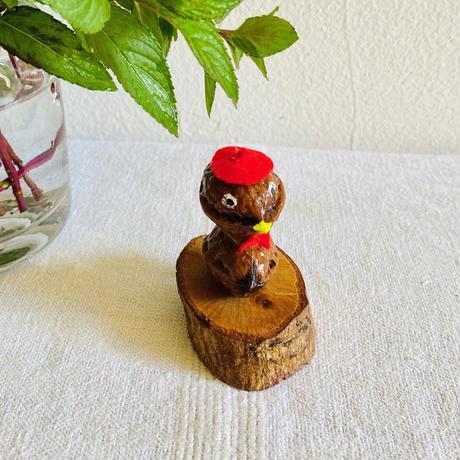 houti|クルミで出来た鳥さん