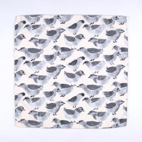 KAYO AOYAMA|ガーゼハンカチ humming birds