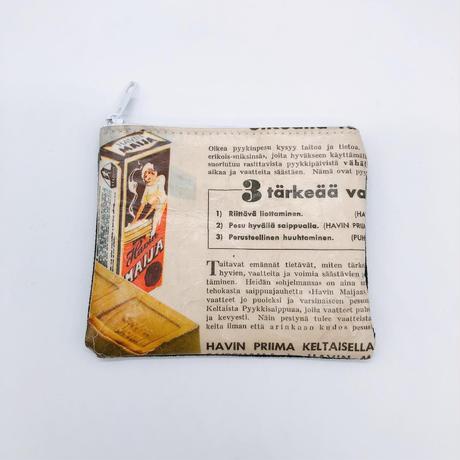 【7月号掲載分】LIFE AND BOOKS|OLD PAPER POUCH (S)7-6