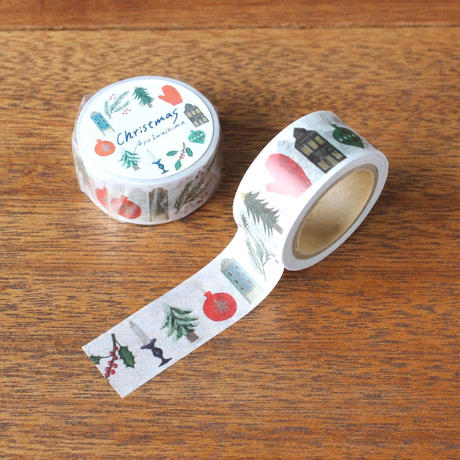 手紙社|いわしまあゆクリスマスカード & マスキングテープ セット