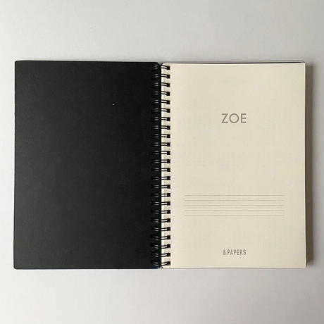 &PAPERS|ZOE 2022年スケジュール帳 E