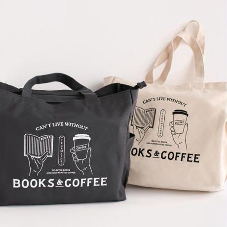 手紙社|トートバッグ「本とコーヒー・オリジナルトート」