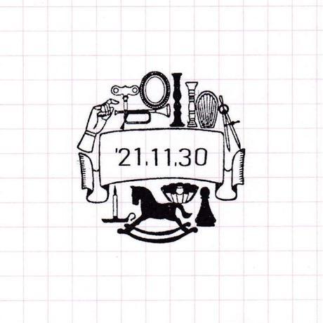 36 Sublo (サブロ)|日付回転印 36mm チダモモコ アンティーク