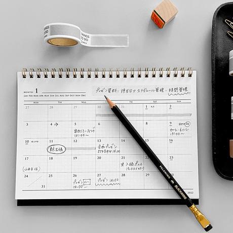 KNOOPWORKS A5 卓上カレンダー 2022