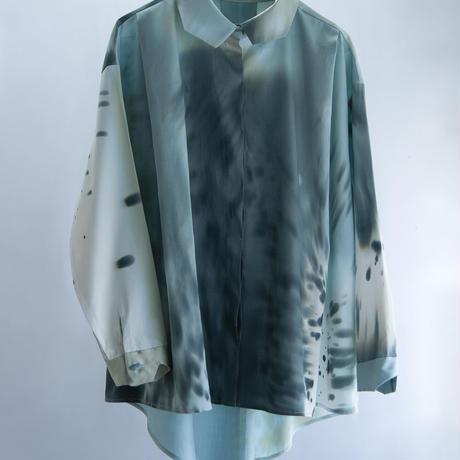YUI MATSUDA fly front shirt【受注商品:10月中発送】