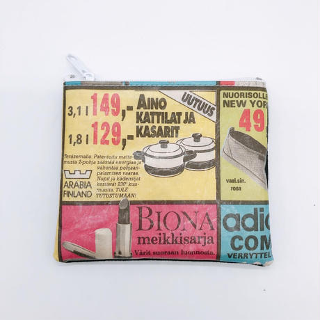 LIFE AND BOOKS OLD PAPER POUCH (S)7-5