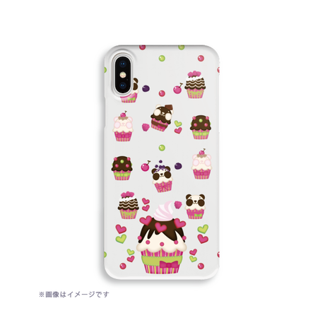 B*ハードケース*iPhone XR/XSMax/iPhone6Plus/6sPlus/7Plus/8Plus*ズレちゃんDEカップケーキ*1923HB