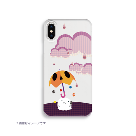 B*クリアハードケース*iPhone XR/XSMax/iPhone6Plus/6sPlus/7Plus/8Plus*アンブー&なぞー