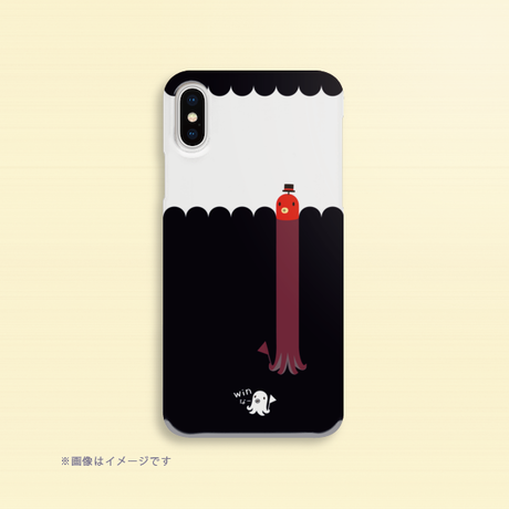 B*クリアハードケースiPhone XR/XSMax/iPhone6Plus/6sPlus/7Plus/8Plus*たこさんwinなーの雑踏