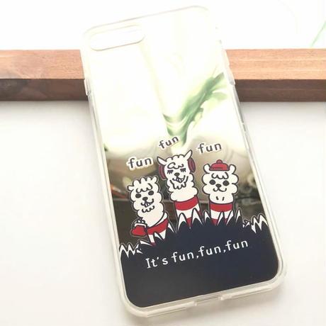 iPhone X/XS/7/8*ミラーケース*18-01MGo*あるぱかイズム*A