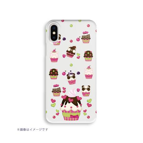 A*ハードケース*iPhone X/XS/8/7/6/5/5s/SE*ズレちゃんDEカップケーキ*1924HB