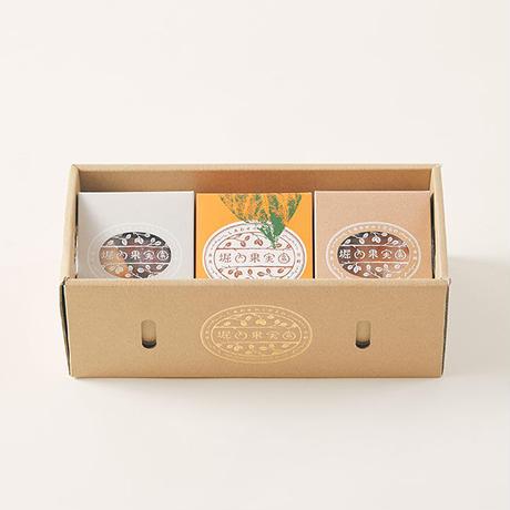 【堀内農園 ギフトセット】ドライフルーツ・柿の葉茶セット(小)