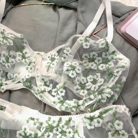 【moreシリーズ】white flowerセット