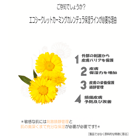 【eco secret】GKSキンセンカセラム30ml