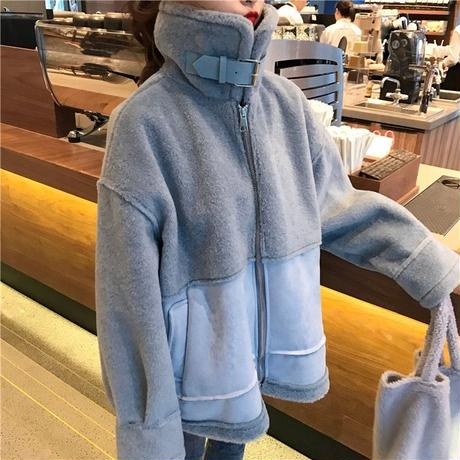Fake💙Mouton Coat