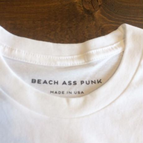 """【BEACH ASS PUNK】PARADISE TEE """"WHITE"""""""