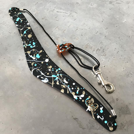 #2 PAINTS_URBAN OASIS Saxophone Strap