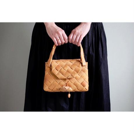 Kaija Karri 白樺のハンドバッグ