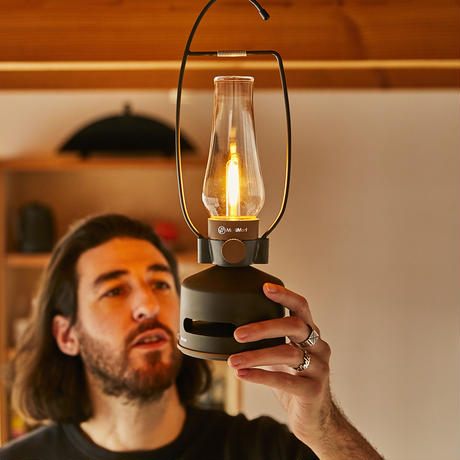 MoriMori  LED ランタンスピーカー と専用ハンドルの  2点セット