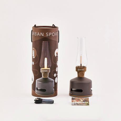 MoriMori LED ランタンスピーカー S URBAN SPORTS (ダークブラウン色) FLS-2002- DB 4573111800273
