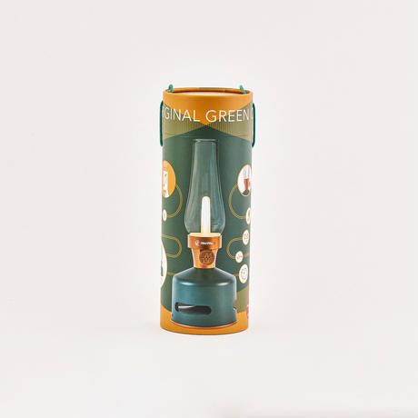 MoriMori LED ランタンスピーカー S ORIGINAL GREEN (ダークグリーン色) FLS-2001-DG 4573111800266